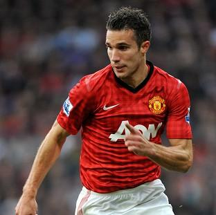 Sir Alex Ferguson admitted he is 'quite happy' with Robin van Persie