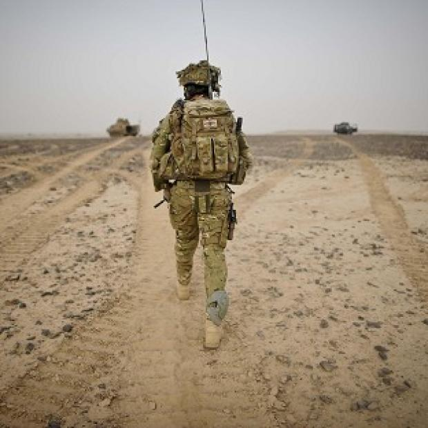 About 500 British troops are due to return home by the end of this year