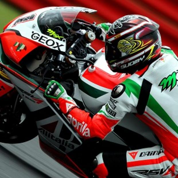 Max Biaggi has won the 2012 World Superbike Championship by half a point