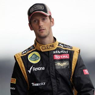Romain Grosjean, pictured, was labelled a 'first-lap nutcase' by Mark Webber