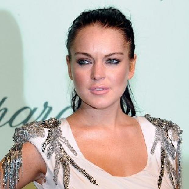 Lindsay Lohan was reported to have been in a dispute with her mum