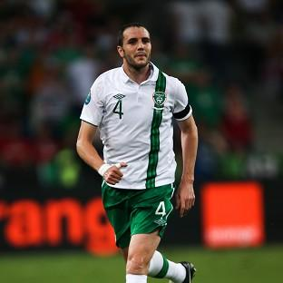 John O'Shea will captain the Republic of Ireland against Germany