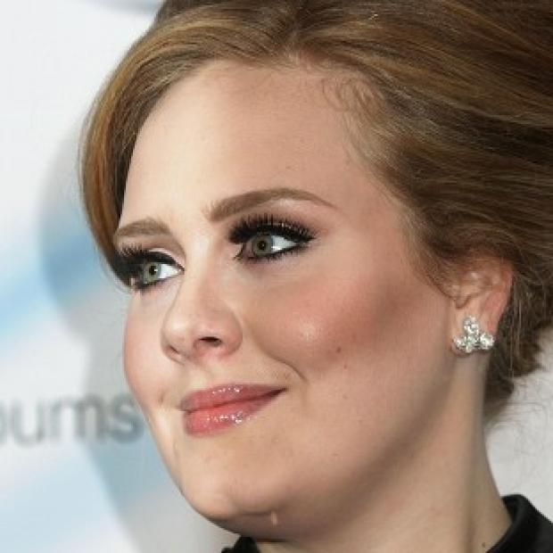 Adele's Bond theme Skyfall made number two in the charts this week