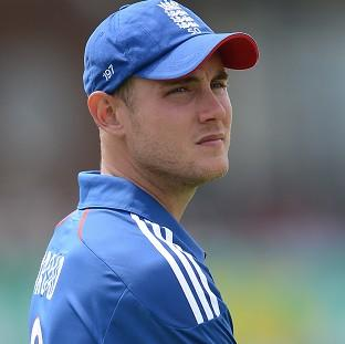 Stuart Broad is hoping for a positive outcome