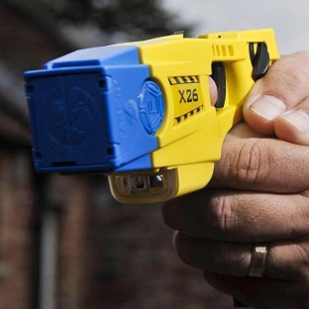 Lancashire Police said it 'deeply regrets' an incident during which a blind man was mistakenly hit with a taser