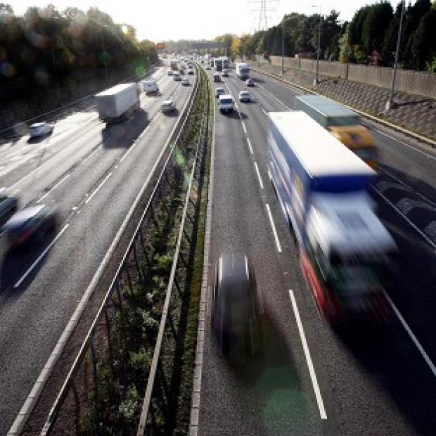 Airgun attacks on motorists have taken place on the London-bound section of the M20 at the junction with the M26