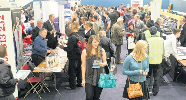 Jobs fair attracts thousands of hopefuls