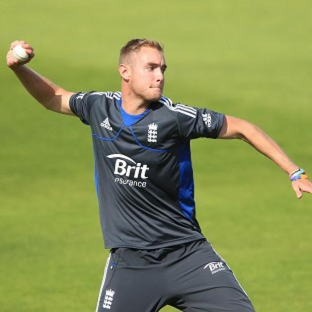 Stuart Broad is looking to develop his game in India