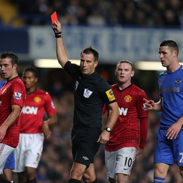 Jeff Winter stressed the seriousness of the allegations made against Mark Clattenburg, centre