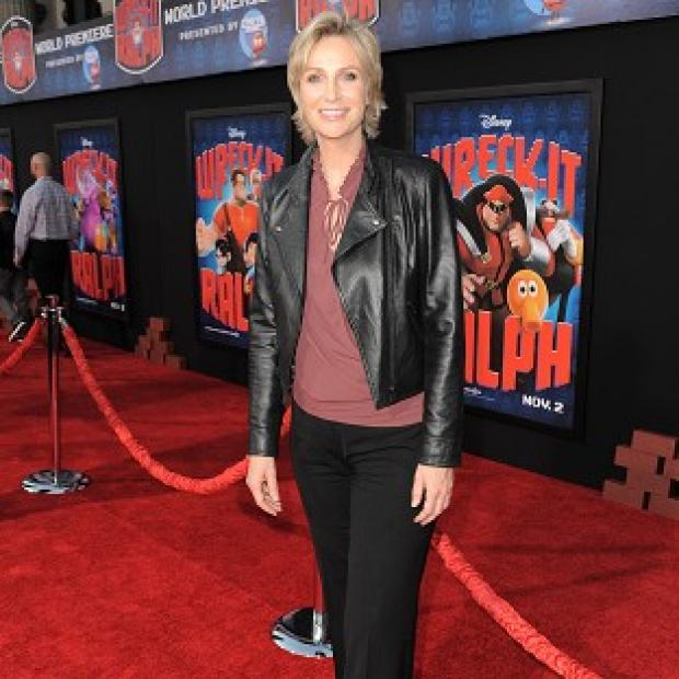 Jane Lynch plays a sergeant in Wreck-It Ralph