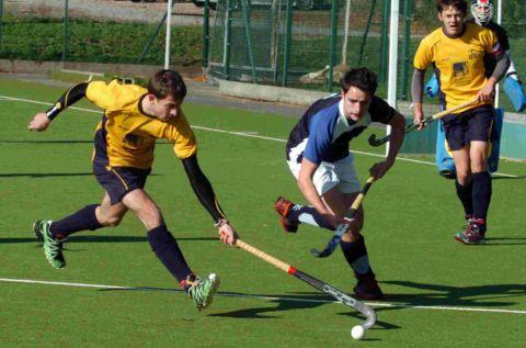 Ollie Budniak in action against Haslemere
