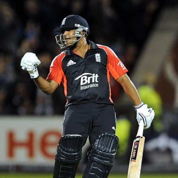 Samit Patel scored an impressive century against India A