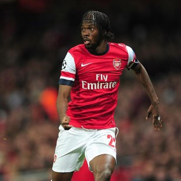 Gervinho has suffered an ankle injury that could keep him out for three weeks