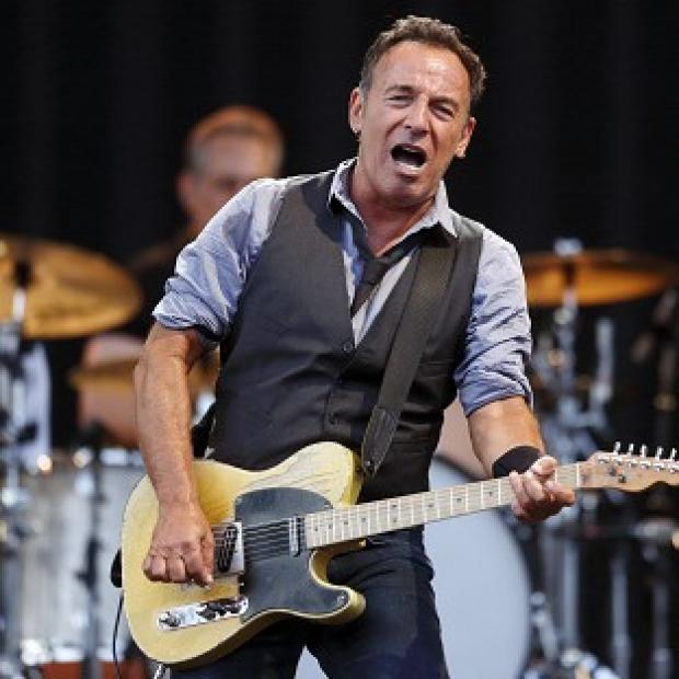 Bruce Springsteen played a heart-wrenching rendition of his song City In Ruins