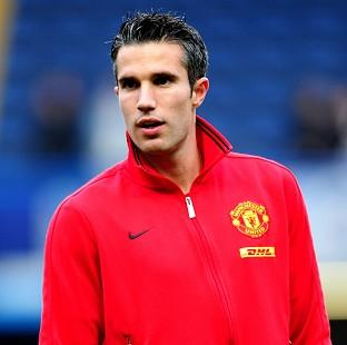 The arrival of Robin van Persie, pictured, excited Manchester United's players, according to Ryan Giggs