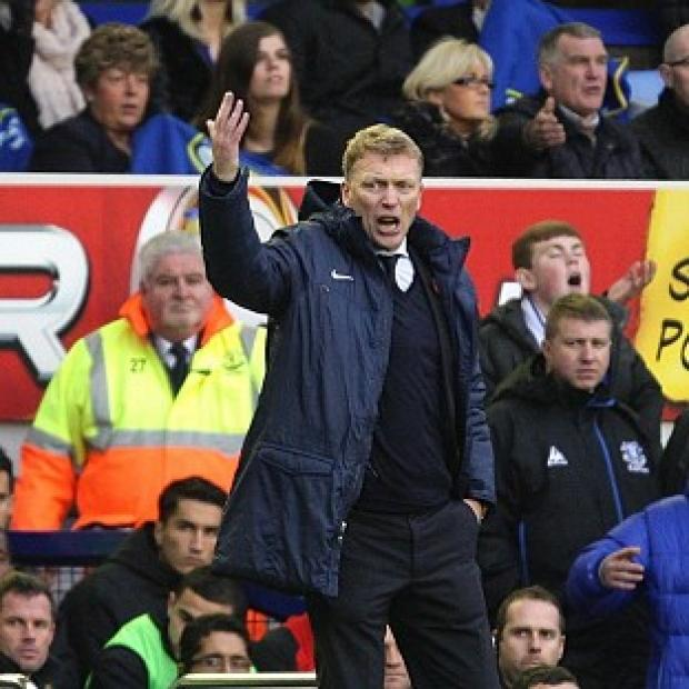 David Moyes, pictured, has dismissed criticism of Everton by Steven Gerrard