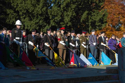 War dead honoured at Winchester Cathedral