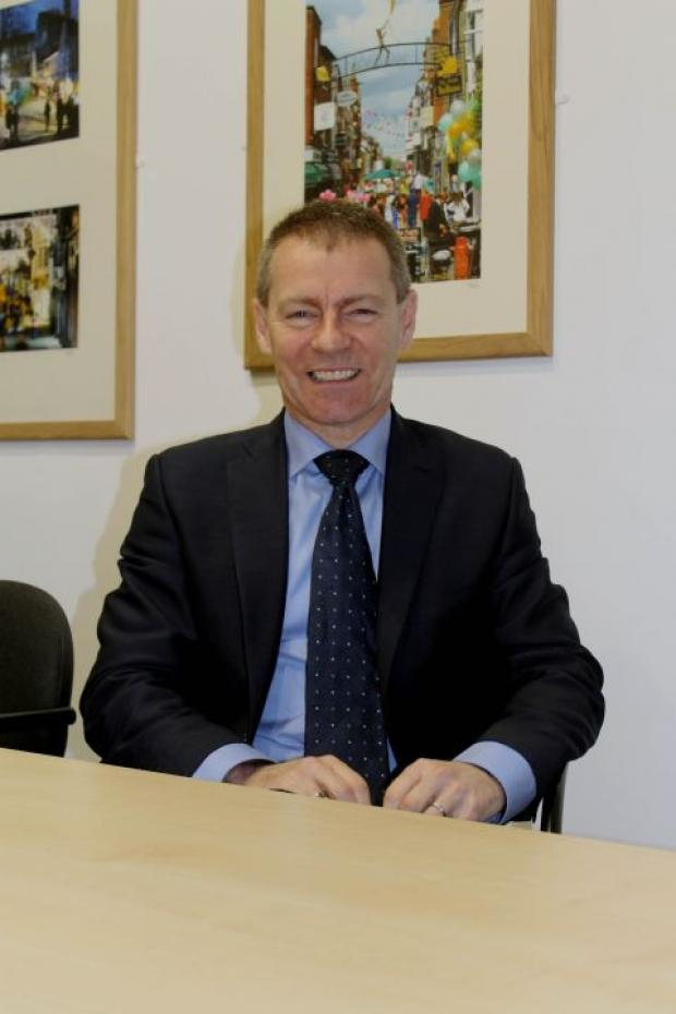 Hampshire Chronicle: New Winchester Business Improvment District chairman Ken Macartney, who takes over from Jeremy France