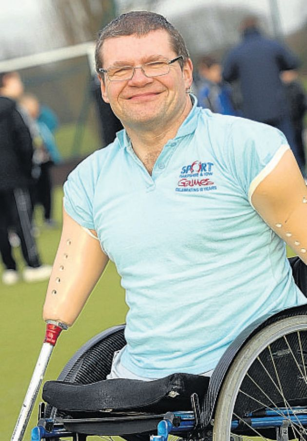 Paralympic gold medallist Peter Hull will attend the event.