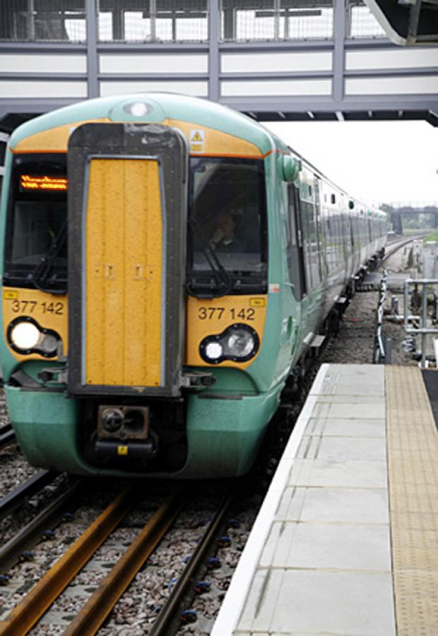 Ice disrupts Hampshire train services