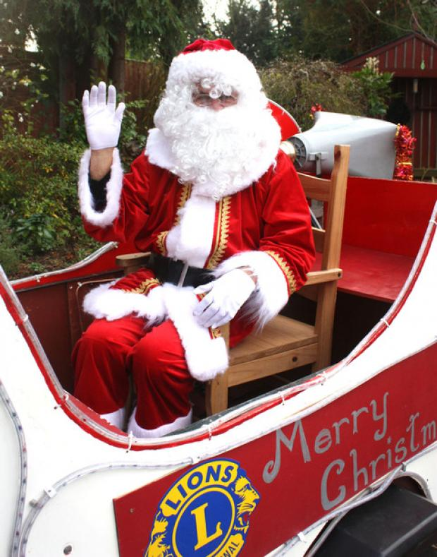 Santa at Winchester pub to raise money for Winnall Primary School