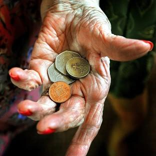 Retirees predicted they would donate 30 pounds more to charity next year