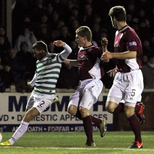 Adam Matthews scores the winner for Celtic