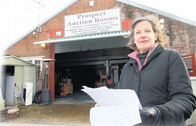 New plans for Charlie Evans, boss of collapsed Alresford auction house