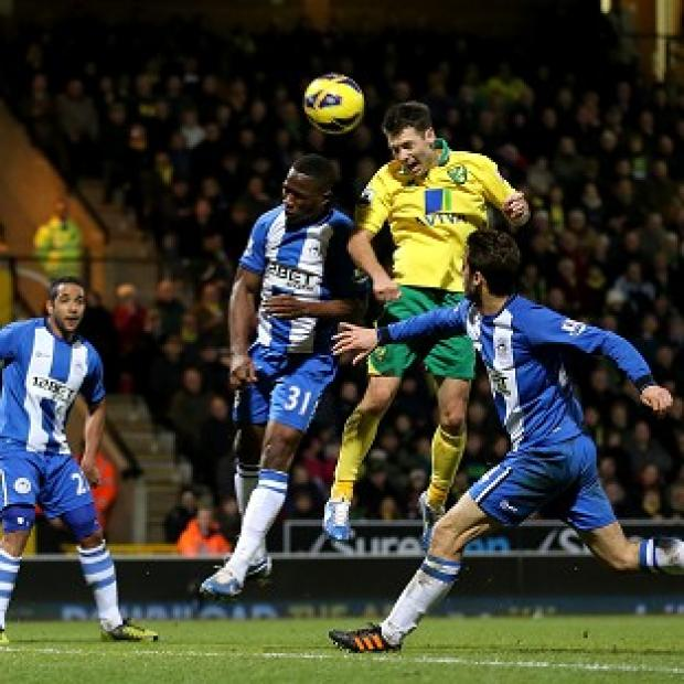 Hampshire Chronicle: Wes Hoolahan's header handed Norwich all three points