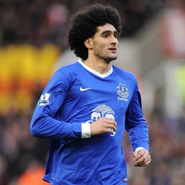Hampshire Chronicle: Marouane Fellaini's suspension is a big blow to Everton