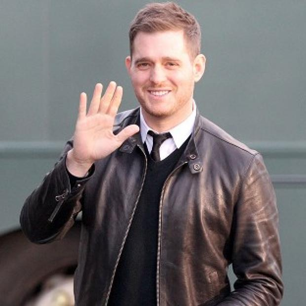 Michael Buble reckons his wife is way out of his league