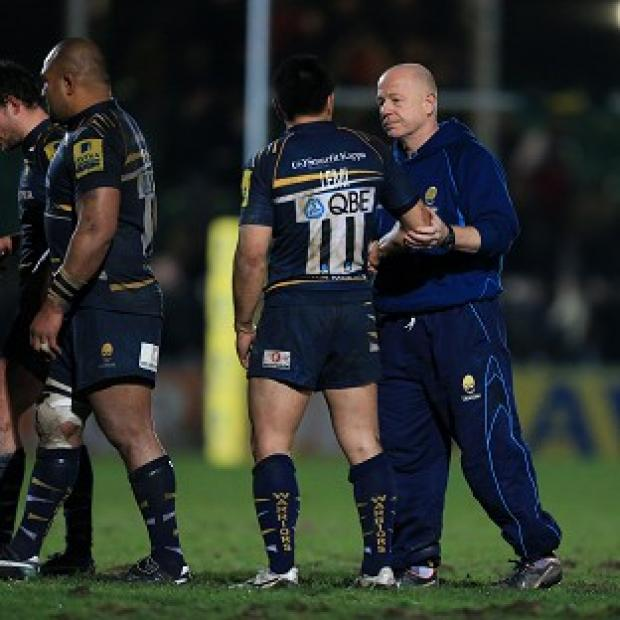 Richard Hill, right, was disappointed with Andy Goode's yellow card