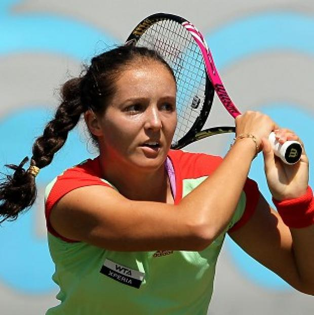 Laura Robson was defeated in the Moorilla Hobart International first round