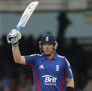 Ian Bell scored 108 in England's 294 for five