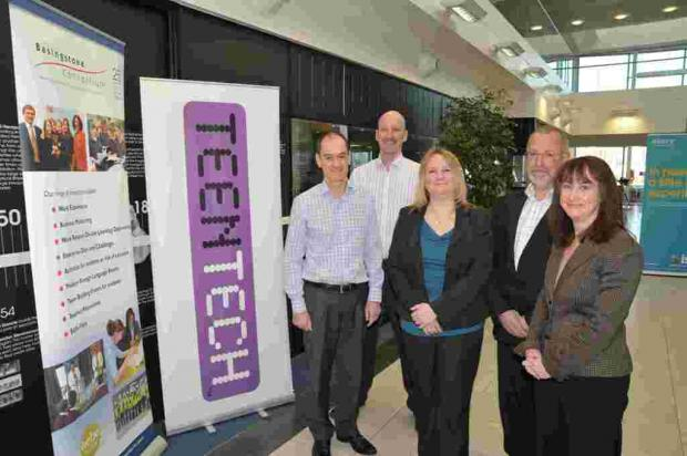 The team behind TeenTech