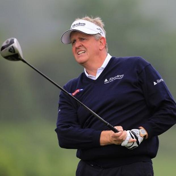 Colin Montgomerie's, pictured, name has been 'put in the frame' with Paul McGinley and Darren Clarke for the Ryder Cup captaincy