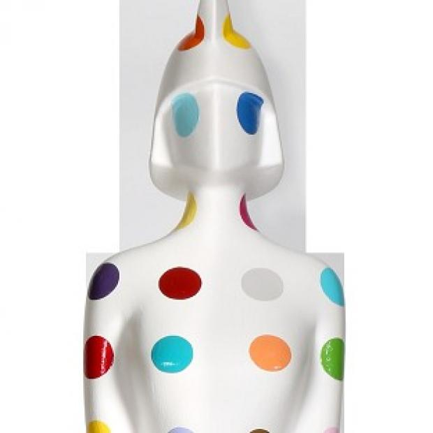 Damien Hirst has designed the new Brit Award trophy
