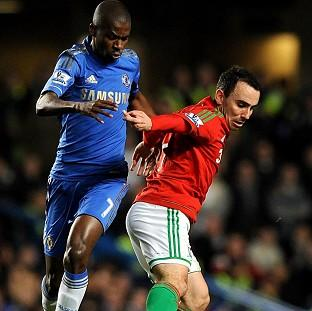 Leon Britton, right, described Wednesday's win over Chelsea as 'the best' Swansea performance
