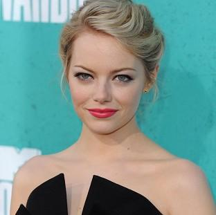 Emma Stone plays femme fatale Grace in Gangster Squad