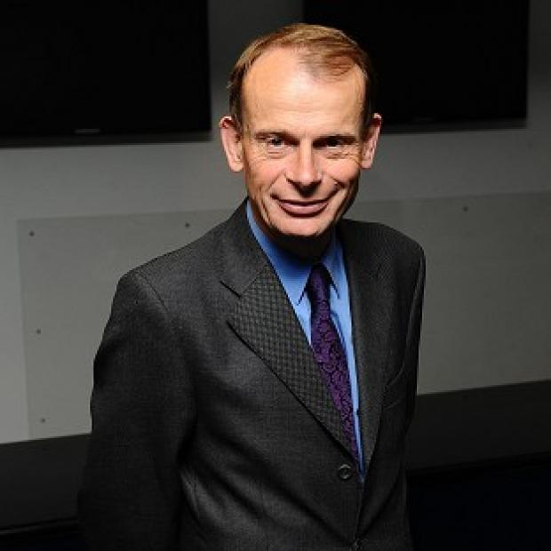 Andrew Marr is recovering after suffering a stroke