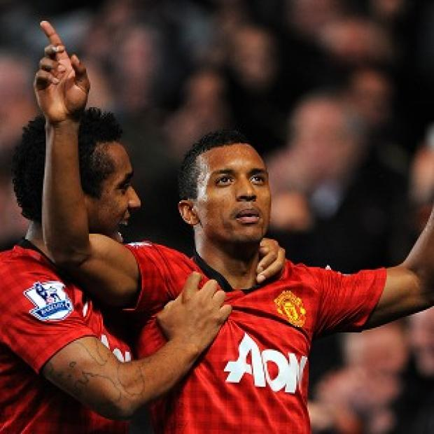 Anderson, left and Nani will return for Manchester United's clash against Liverpool
