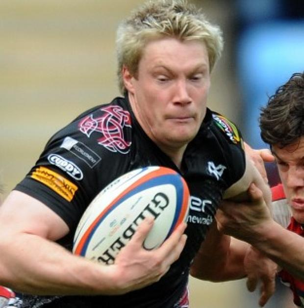 Jonathan Spratt's late try secured a draw for Ospreys