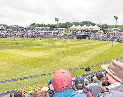 Hants increase capacity for Ageas Bowl Test