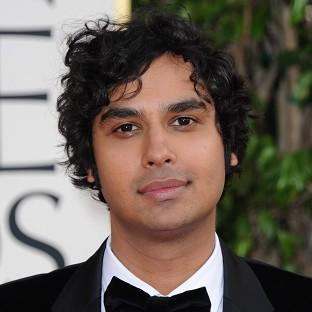 Kunal Nayyar plays astrophysicist Rajesh Koothrappali in The Big Bang Theory