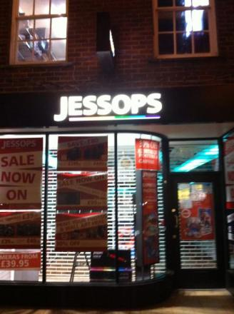 Jessops in Winchester High Street has closed