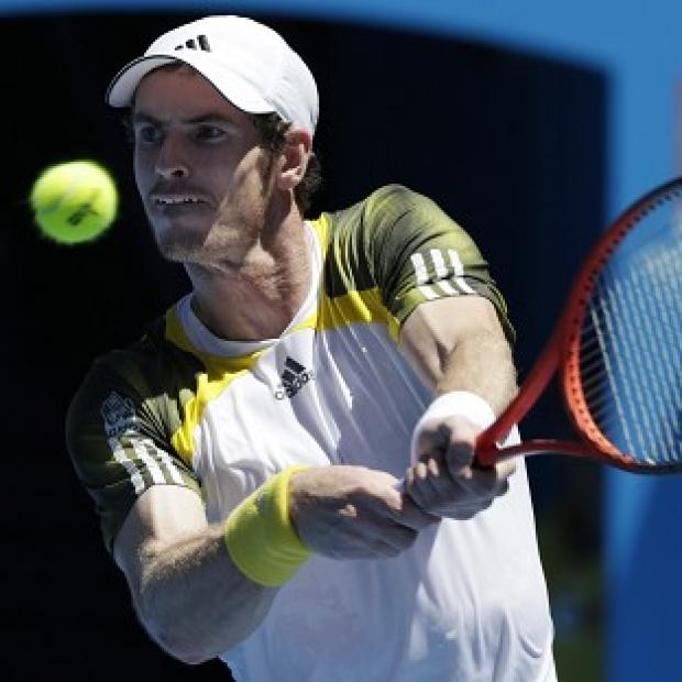 Andy Murray looked in impressive form at the Australian Open (AP)
