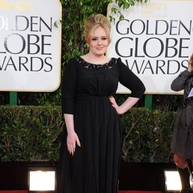 Adele gave birth to her baby son in October