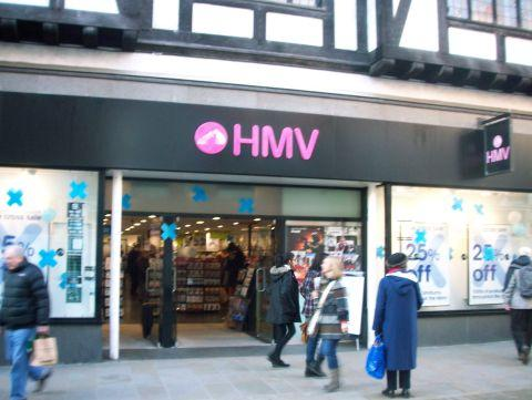 Hampshire Chronicle: HMV in Winchester High Street is not on a list of 66 shops to close across the country