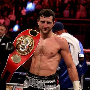 Carl Froch is the IBF World Super Middleweight champion
