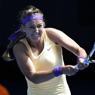 Victoria Azarenka had to overcome a gruelling clash to progress (AP)